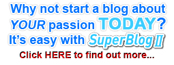 Start blogging about Your passion today!