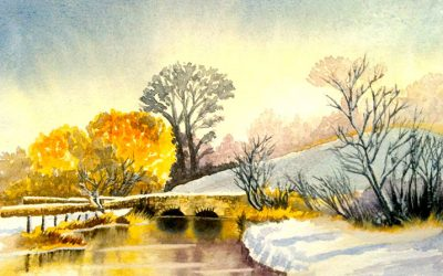 Watercolour Painting | Keble Bridge
