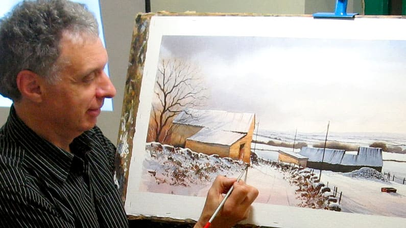 Geoff Kersey - Watercolour Artist