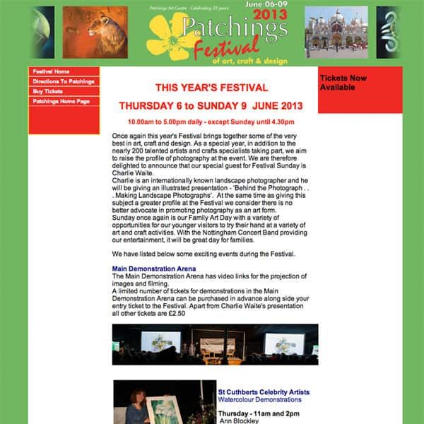 Patchings Art Festival