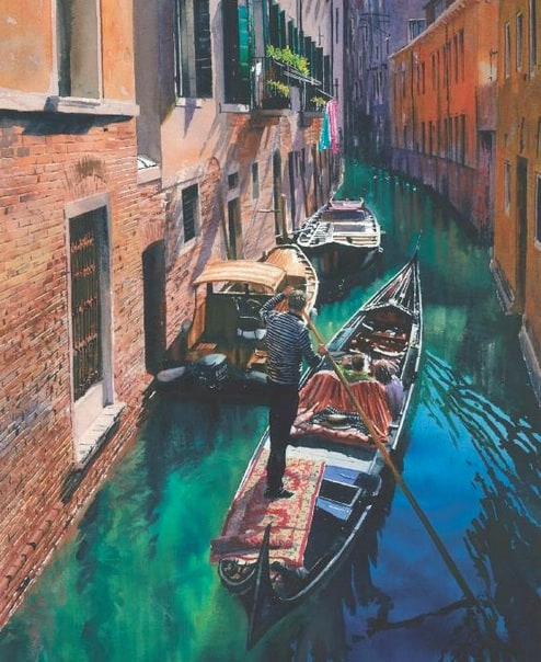 Venice in Watercolour by Joe Francis Dowden