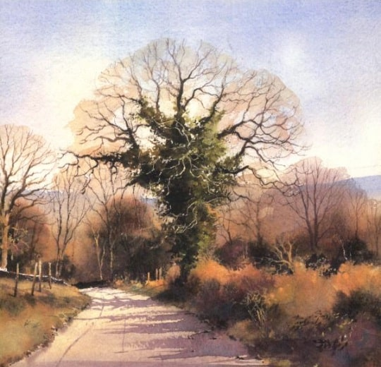 Watercolour Trees and Woodlands by Geoff Kersey