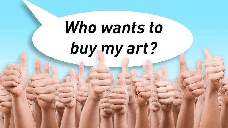 Building a tribe that will buy your art online