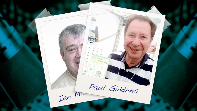 Interview with Paul Giddens talking about Daniel Smith Watercolour Paints
