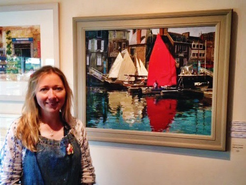 Interview with artist Haidee-Jo Summers at Patchings Art Festival 2014