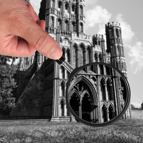 Majestic Ely Cathedral Close-up View