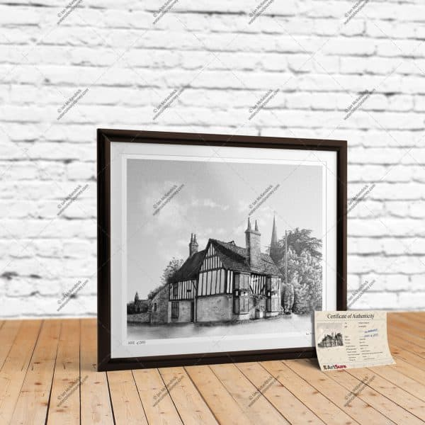 St Mary's Cottage Ely - Full-Size Print