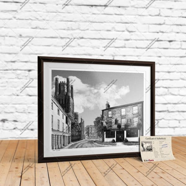 The Minster Tavern Ely - Full Size Giclée Print