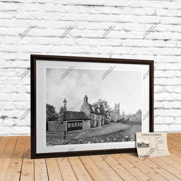 The Old Fire Engine House Ely - Full-Size Print
