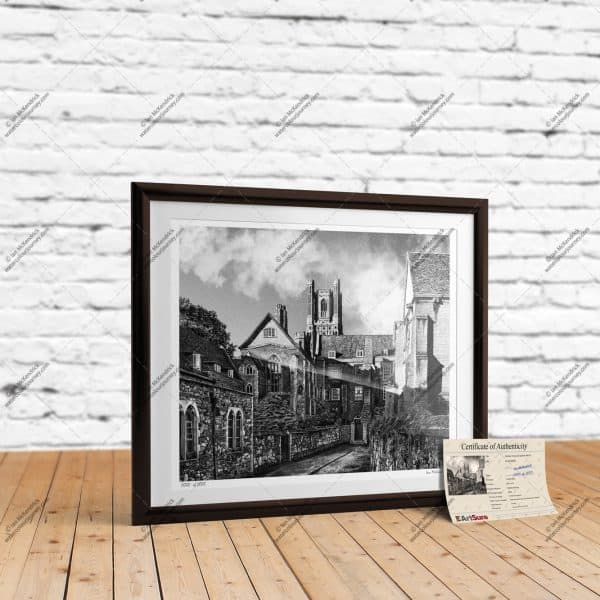 The Queen's Hall Ely - Full-Size Giclée Print